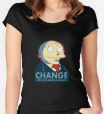 Ralph Wiggum for President 2016 Women's Fitted Scoop T-Shirt