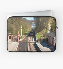 Approaching Goathland Station Laptop Sleeve