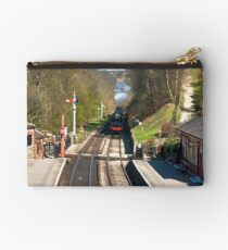 Approaching Goathland Station Studio Pouch