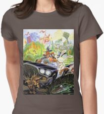 Sam & Max Womens Fitted T-Shirt