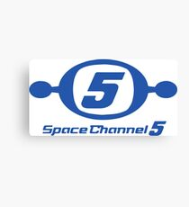 Space Channel 5 Canvas Print