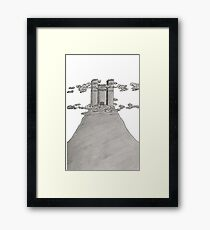 High Top Hill Framed Print