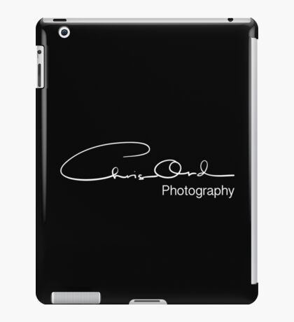 Chris Ord Photography White iPad Case/Skin