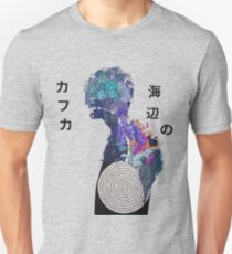 Kafka on the shore - Illustration Merch T-Shirt