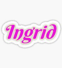 Ingrid Sticker