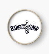 Barbershop Clock