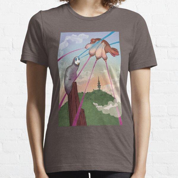 Skywhale Vs Pen15 Owl Essential T-Shirt