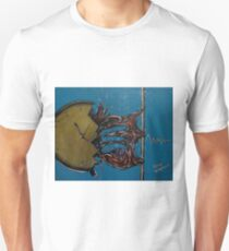 Time Stretch...the rubberband heart.......... Unisex T-Shirt