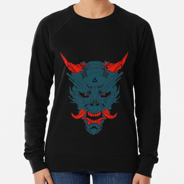 Japanese Oni Art BabyBee Lightweight Sweatshirt