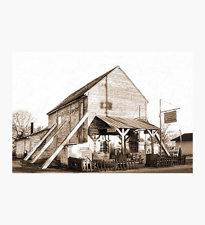 Shorterville Grocery Photographic Print