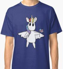 Patriotic Unicorn - Rainbow American Flag / Alicorn / Pegasus Classic T-Shirt