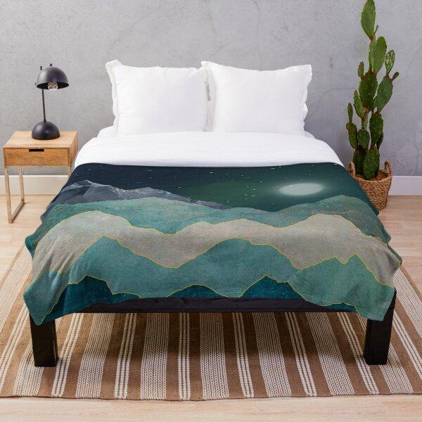 Cool Mountain (D098) Throw Blanket