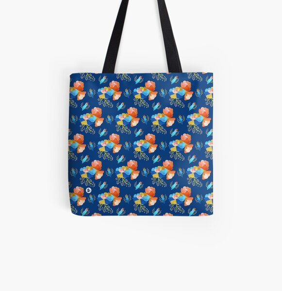 Bubbly (dark) All Over Print Tote Bag