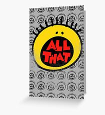 All That (vintage) Greeting Card