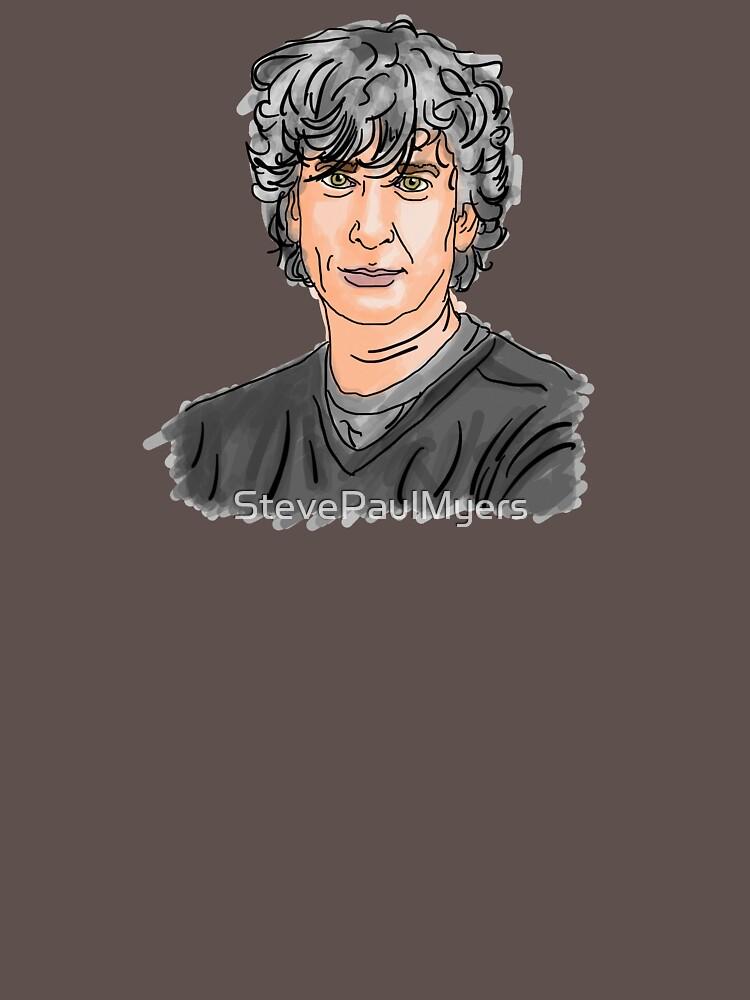 Neil Gaiman by StevePaulMyers