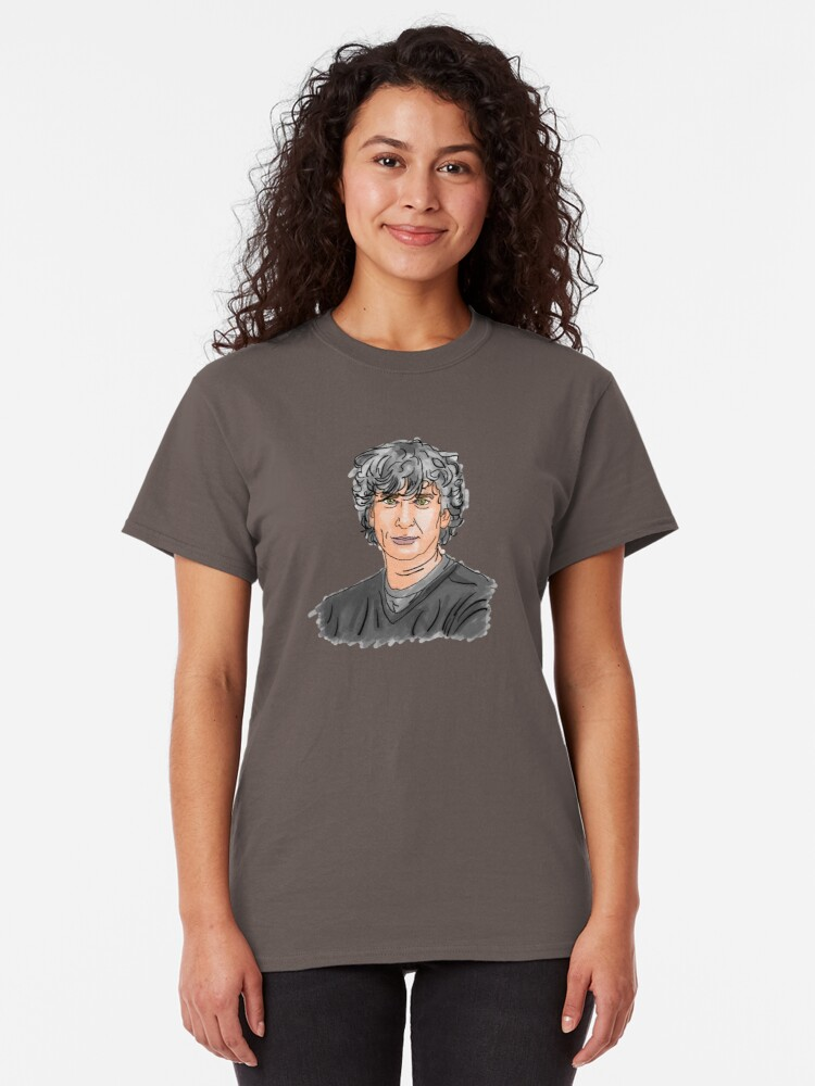 Alternate view of Neil Gaiman Classic T-Shirt