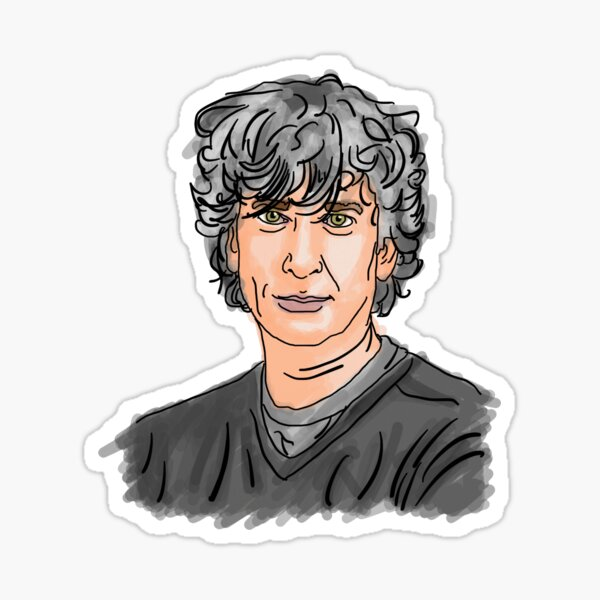 Neil Gaiman Sticker