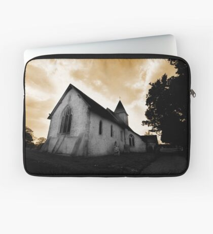 St Mary's Church Silchester Laptop Sleeve
