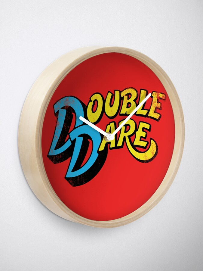 Alternate view of Double Dare (vintage) Clock