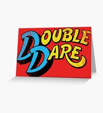 Double Dare (vintage) Greeting Card
