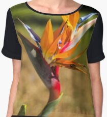 Birds of Paradise/Heliconia - Nature Photography Women's Chiffon Top