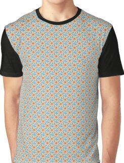 Floral abstract color pattern Graphic T-Shirt