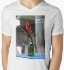 Red Heliconia/Birds of Paradise Flower - Nature Photography T-Shirt