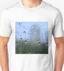 mystic silhouette of city Unisex T-Shirt