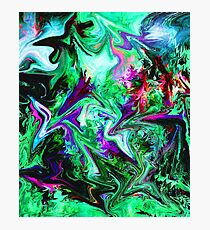 Forest Rainbow Abstract Photographic Print