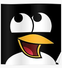 Awesome Linux Penguin Poster