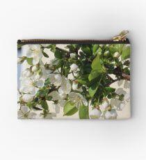 White Sea of Blossoms Studio Pouch