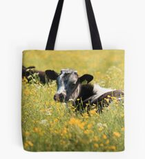 Cattle on the Plot Tote Bag