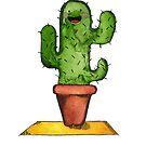 « Friendly Cactus » par studiocyanotype