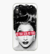 Not today, Satan. Not today. iPhone Case