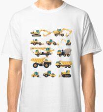 Construction machiner Classic T-Shirt
