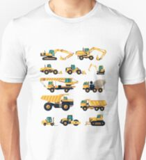 Construction machiner Unisex T-Shirt