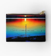 Evening Reflection -Reedy Lakes Geelong Studio Pouch