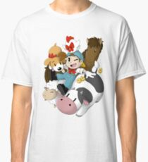 Harvest Moon (Back To Nature) Classic T-Shirt