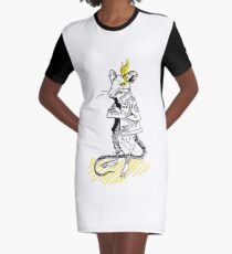 Rats are good (transparent) Graphic T-Shirt Dress