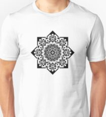 Abstract Black Silhouette Unisex T-Shirt