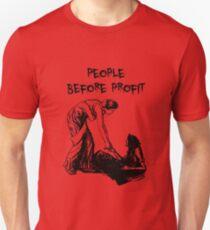 People Before Profit Unisex T-Shirt