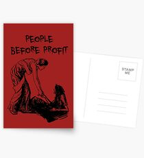 People Before Profit Postcards