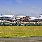 L-1049F Super Constellation HB-RSC by Colin Smedley