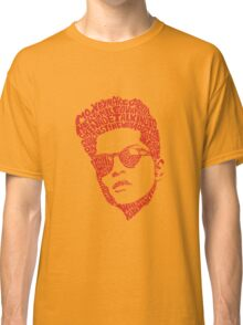 bruno mars thypography RC Classic T-Shirt