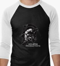 KOJIMA PRODUCTIONS New Kojipro Logo Hideo Kojima Men's Baseball ¾ T-Shirt