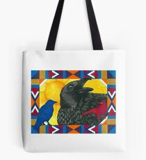 Crow Medicine Tote Bag