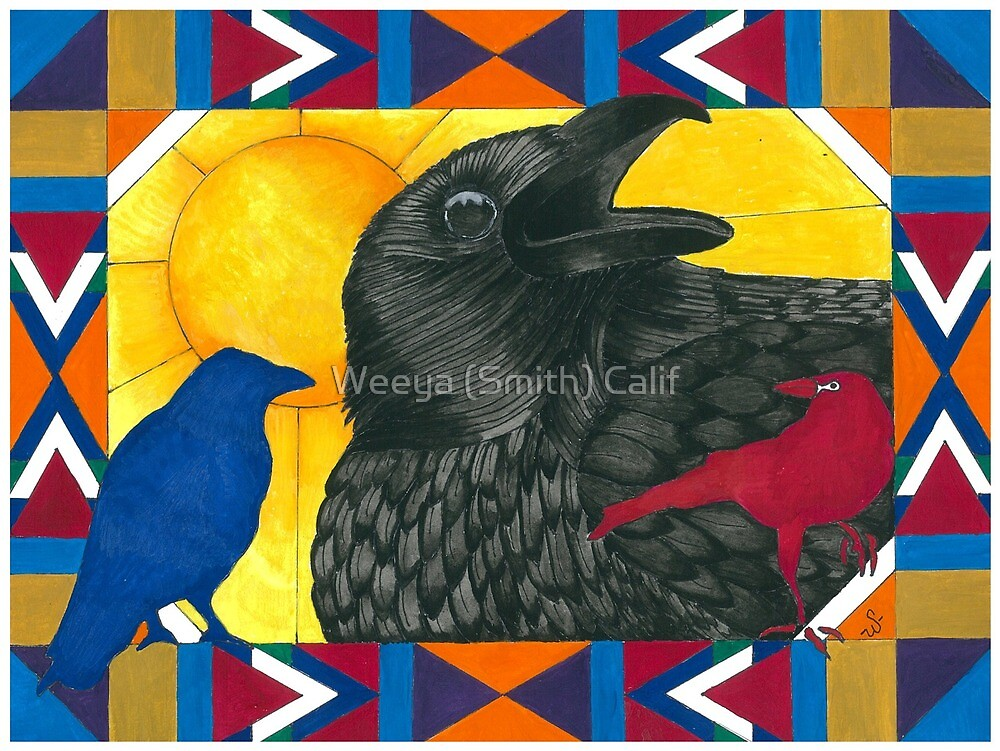 Crow Medicine by Weeya Michelle Smith