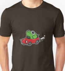 MOTHER 3 FROG IN A CAR - earthbound T-Shirt