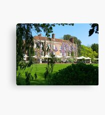 Pashley Manor Canvas Print