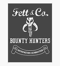 Fett & Company - Bounty Hunters Photographic Print